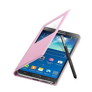 Samsung S-view Cover Note 3 Rosa